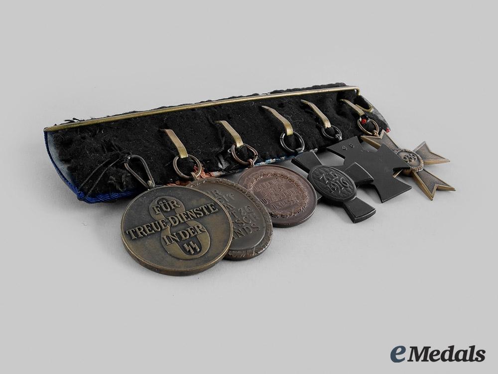 Germany, SS. An SS Long Service Medal Bar