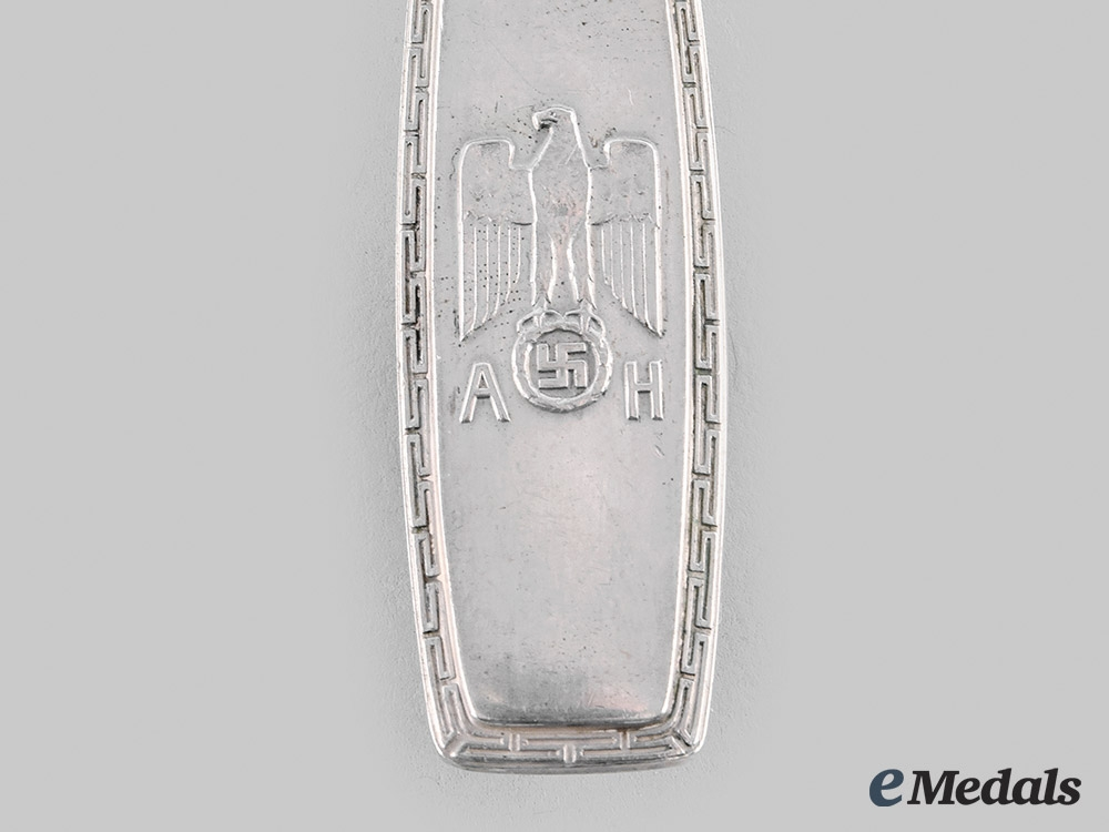 Germany, NSDAP. A Reich Chancellery Tablespoon, by P. Bruckmann & Söhne