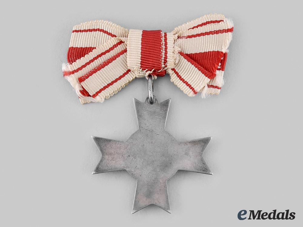 Danzig, Free City. A Cross of Merit of the Red Cross, II Class, c.1934