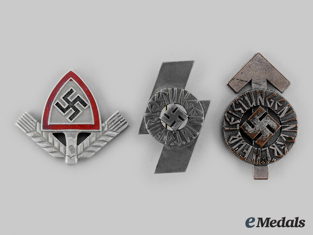 Germany, Third Reich. A Lot of Organization Badges