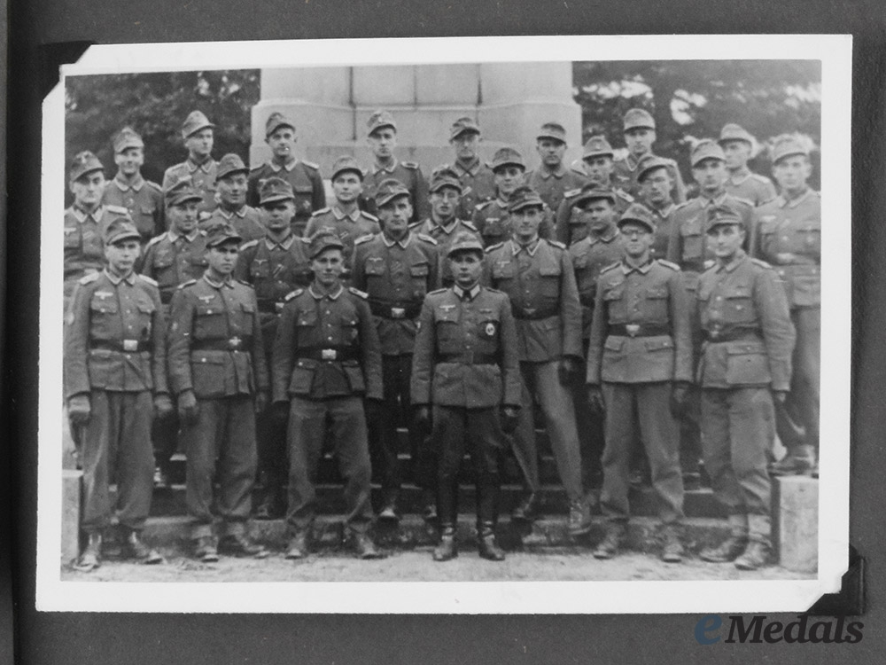 Germany, Heer. An Armoured Division Wartime Photo Album, c.1940
