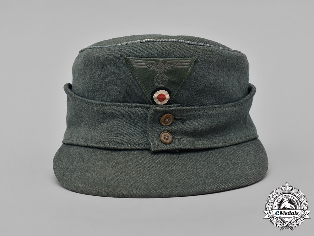 Germany, Heer. An Army 16th Motorized Infantry Division M43 Officer's Field Cap
