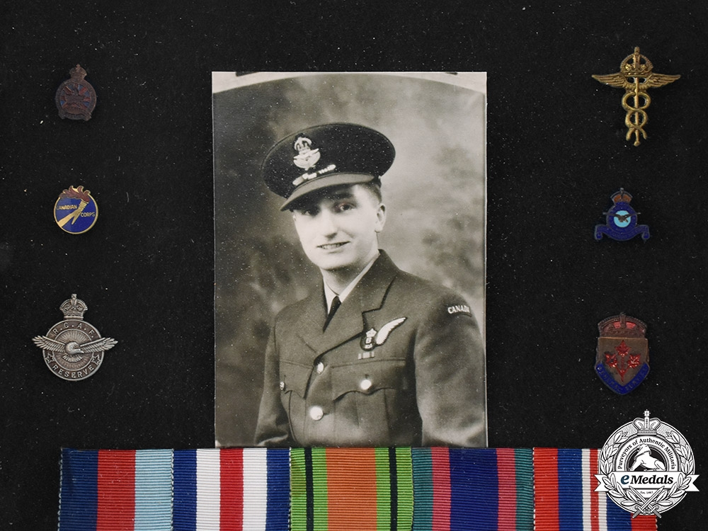 Canada, Commonwealth. A Royal Canadian Air Force (RCAF) Group, Framed