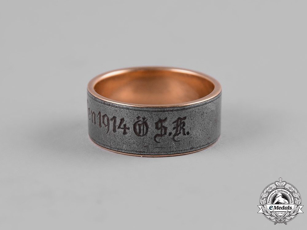 Germany, Imperial. A First War Period Gold Donation Ring