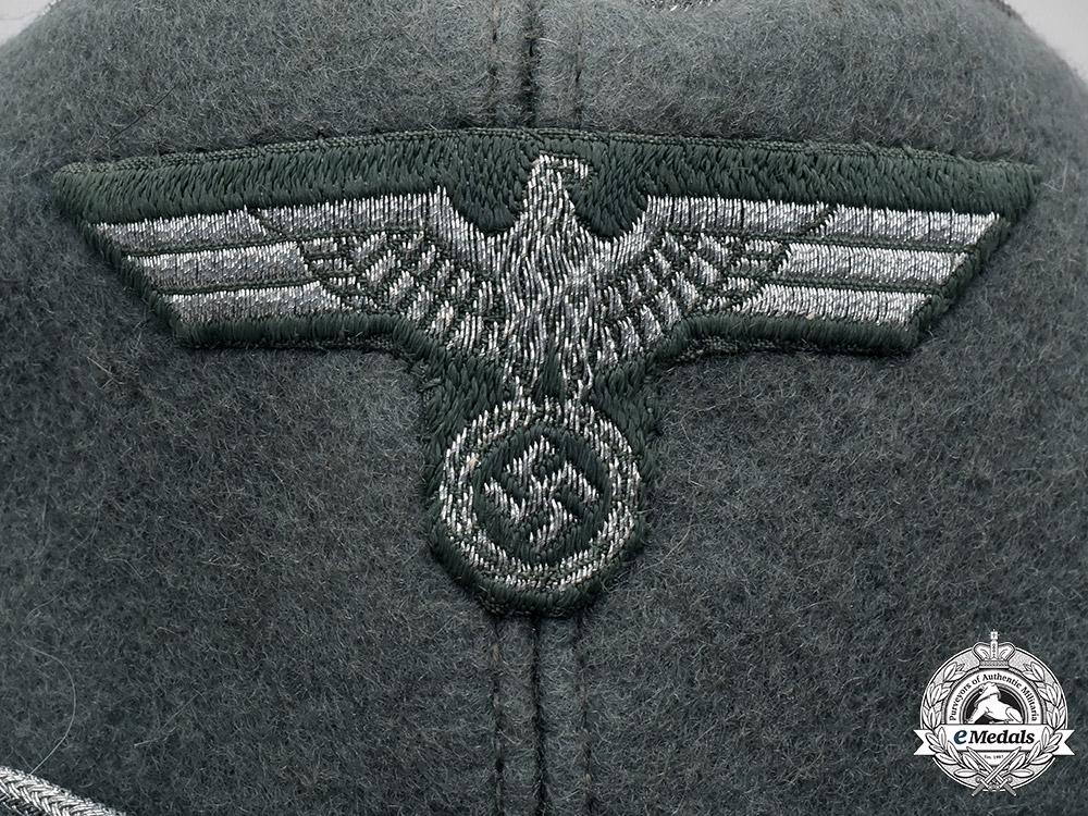 Germany, Heer. A Heer Panzergrenadier Officer's Overseas Cap