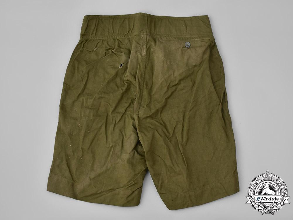 Germany, Heer. A Pair of Heer (Army) M42 Tropical Shorts