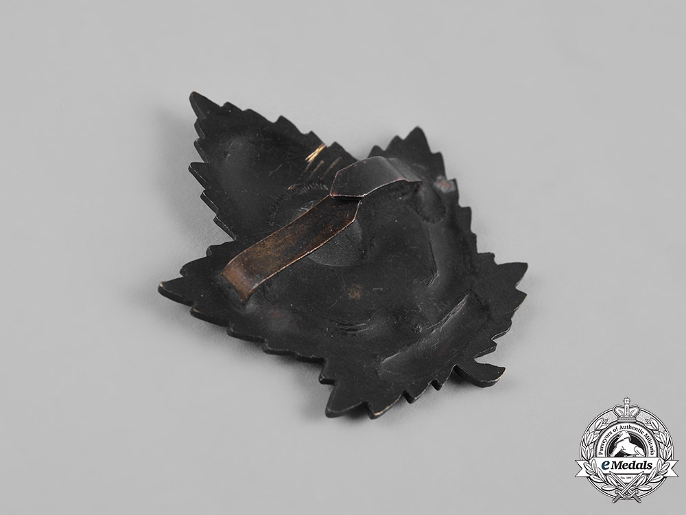 Canada. A Chaplain Service General Service Cap Badge, by Gaunt