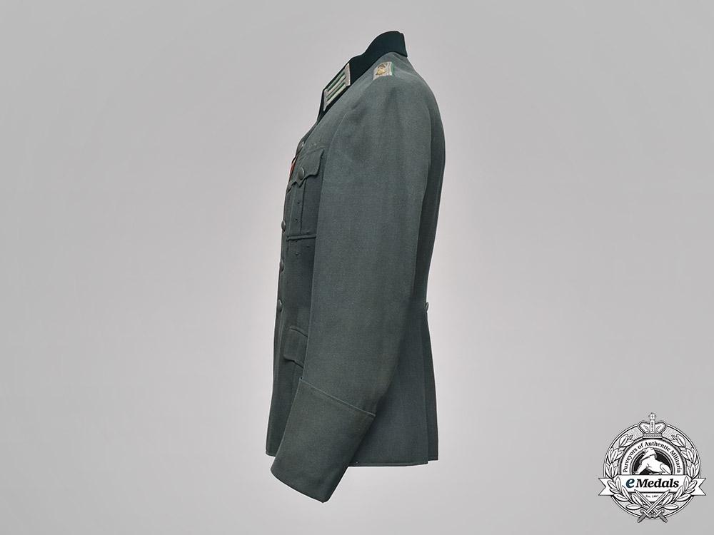 Germany, Heer. A Gebirgsjäger Officer's Service Tunic, to Dr. Alfred Horstkotte, by Armeemarinehaus, c.1943