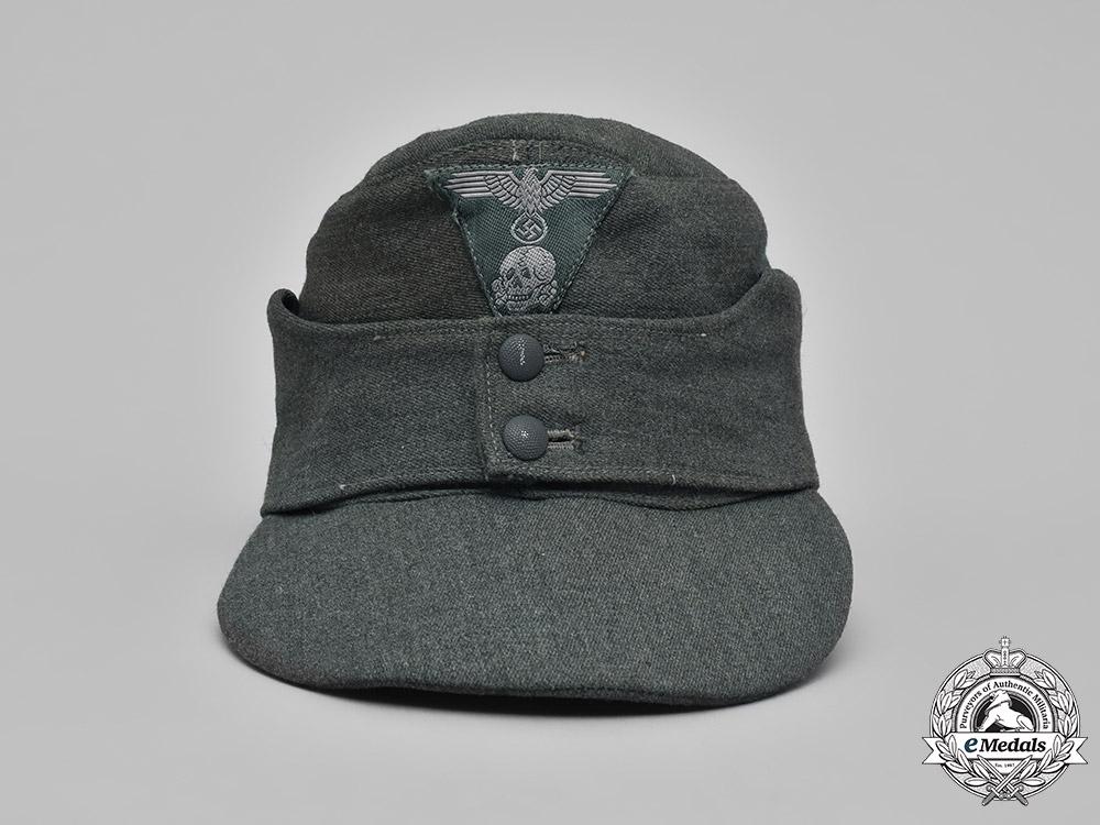 Germany, SS. A Waffen-SS M43 Field Cap