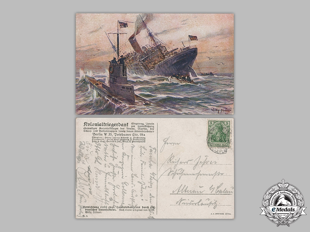 Germany, Imperial. A Lot of Imperial German Navy Postcards