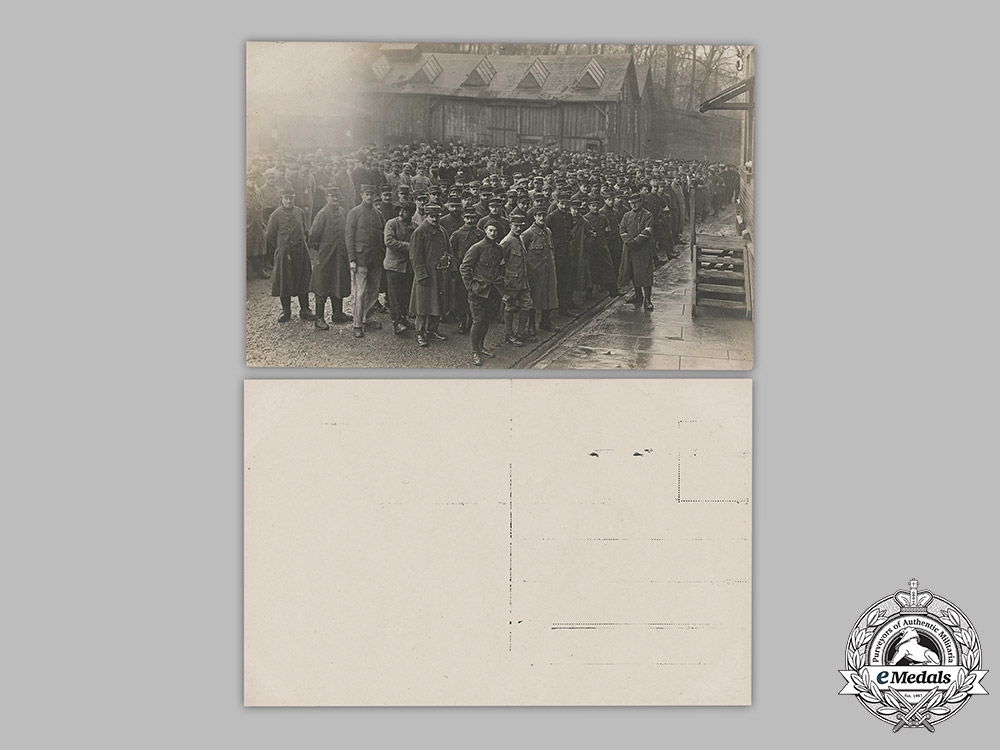 Germany, Imperial. A Lot of Stuttgart POW Camp Postcards Featuring French Prisoners