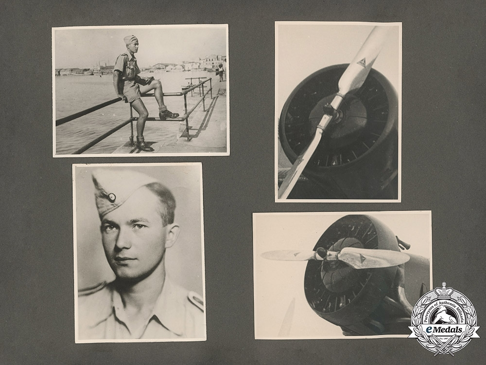 Germany, Heer. A Photo Album Belonging to a Member of the Afrika Korps