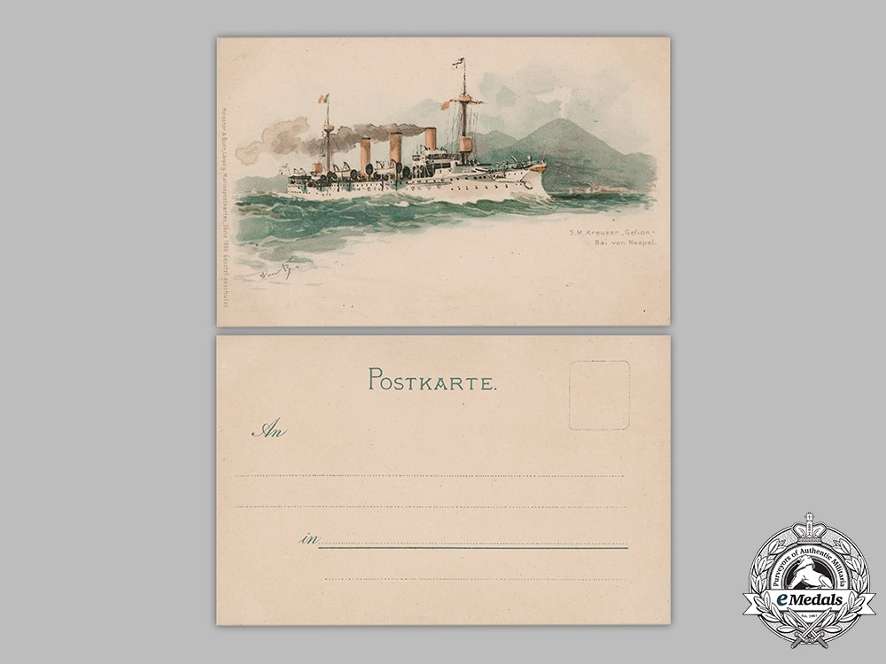 Germany, Imperial. A Lot of Naval Postcards
