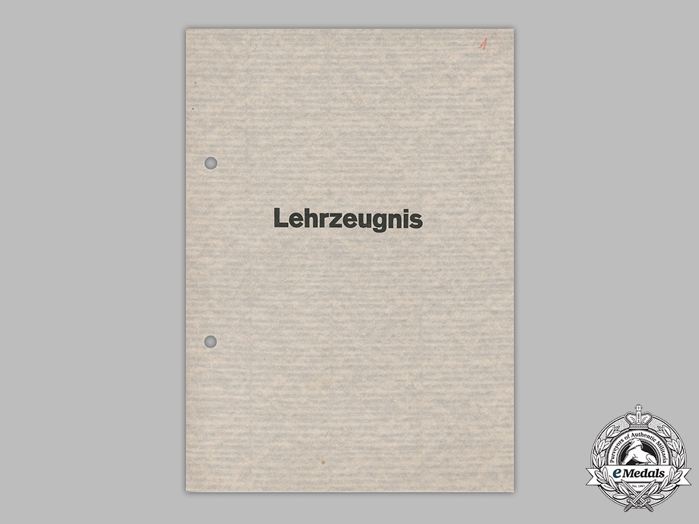 Germany, Heer. A Document Group to Obergefreiter Bruns, 369th (Croatian) Infantry Division