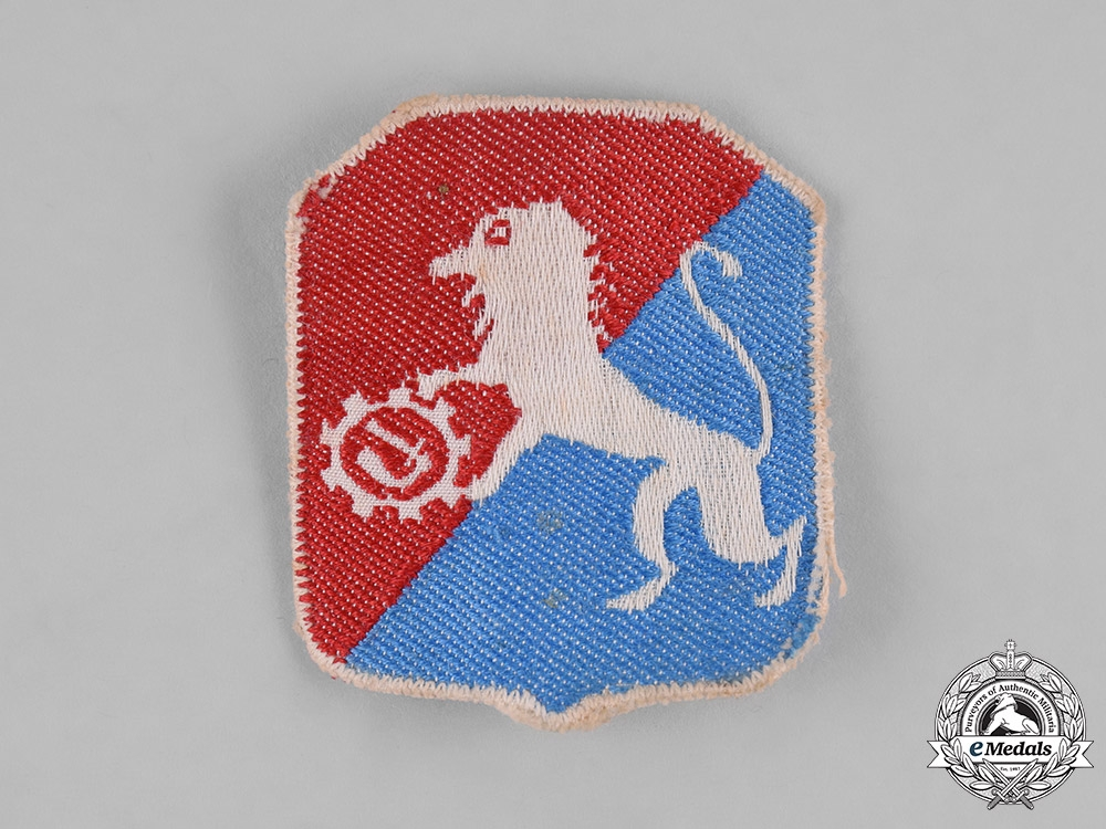 Poland, Republic. A 6th Lwow Infantry Division Sleeve Badge, c.1944