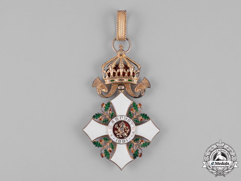 Bulgaria, Kingdom. An Order for Civil Merit, III Class Commander, c.1920