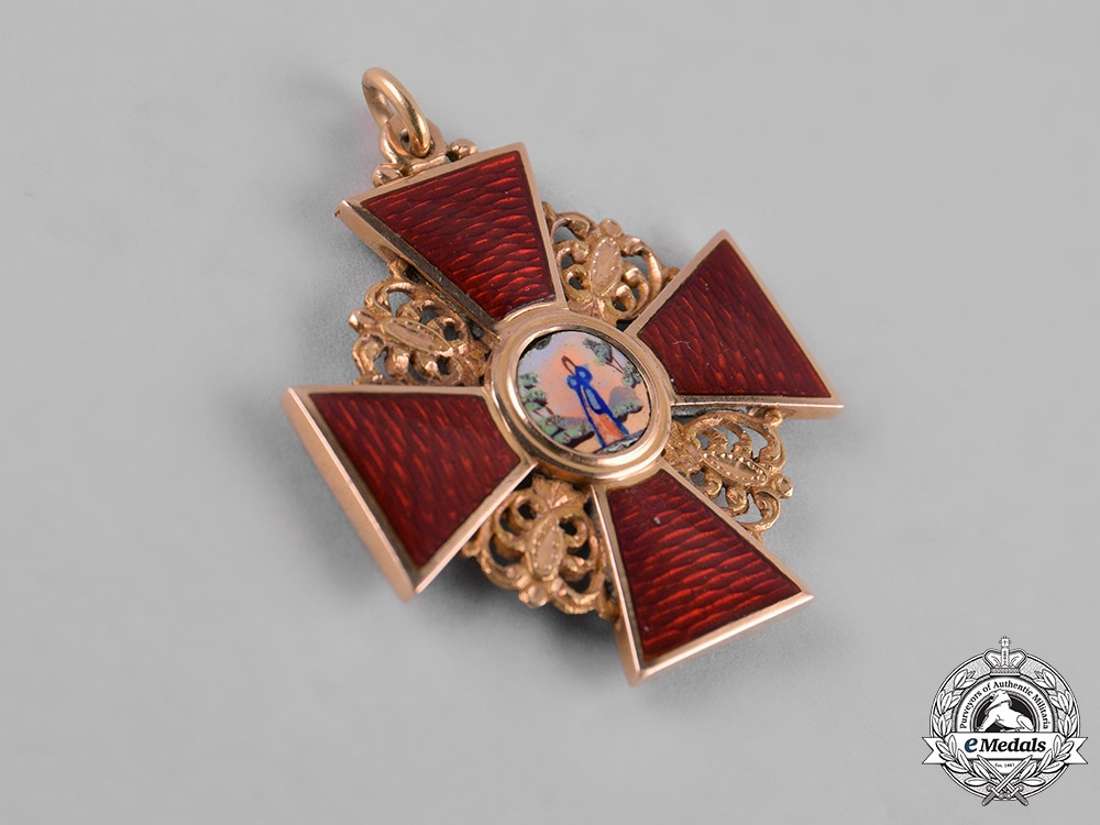 Russia, Imperial. An Order of St. Anne, III Class, c.1855