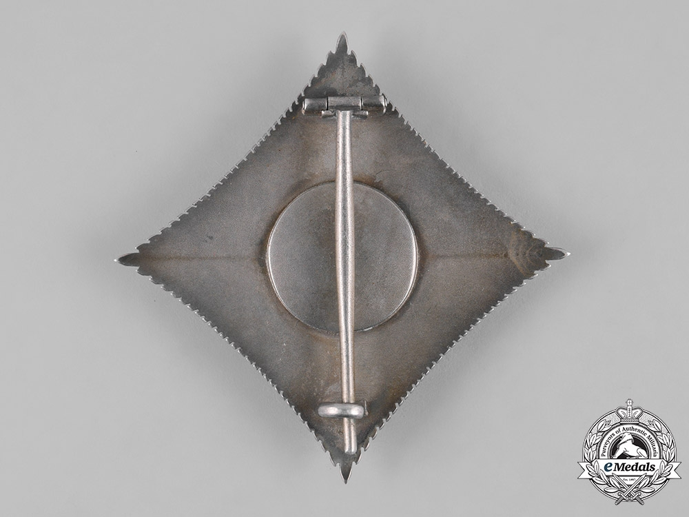 Hohenzollern, State. A House Order of Hohenzollern, Commander's Star, c.1914
