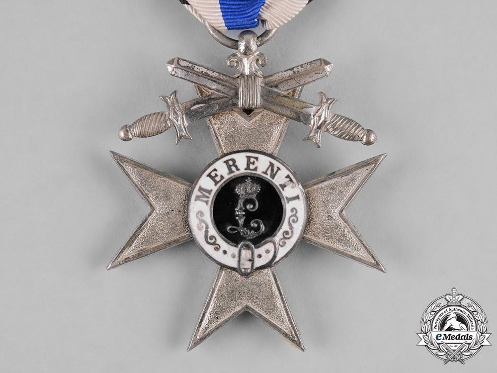 Bavaria, Kingdom. A Military Merit Cross, II Class with Swords, c.1916