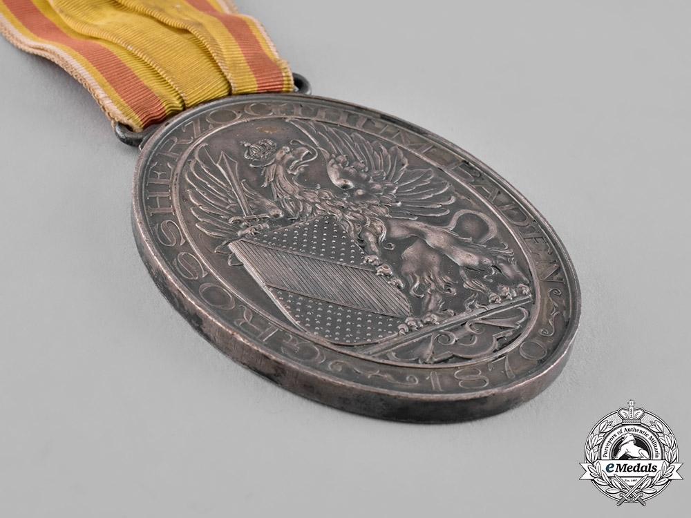 Baden, Duchy. A Veteran Society Medal, Silver Grade