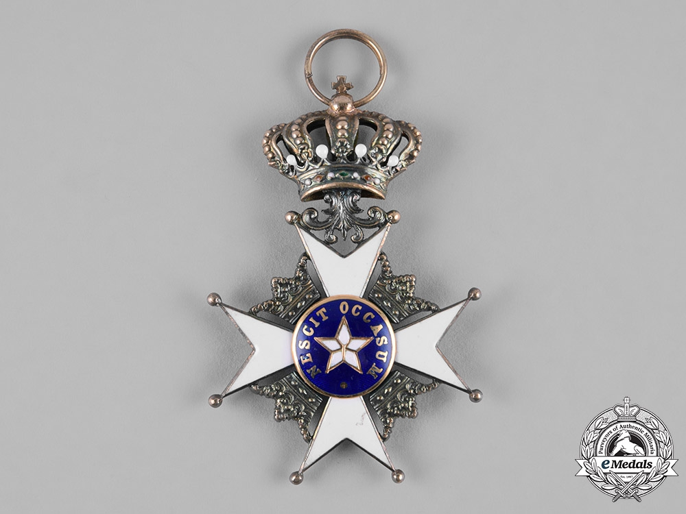 Sweden, Kingdom. An Order of the North Star, Knight's Breast Badge, by C.F.Carlman