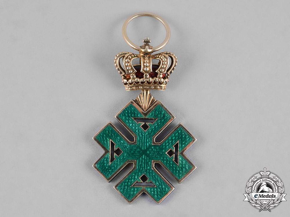 Romania, Kingdom. An Order of Ferdinand I, Knight