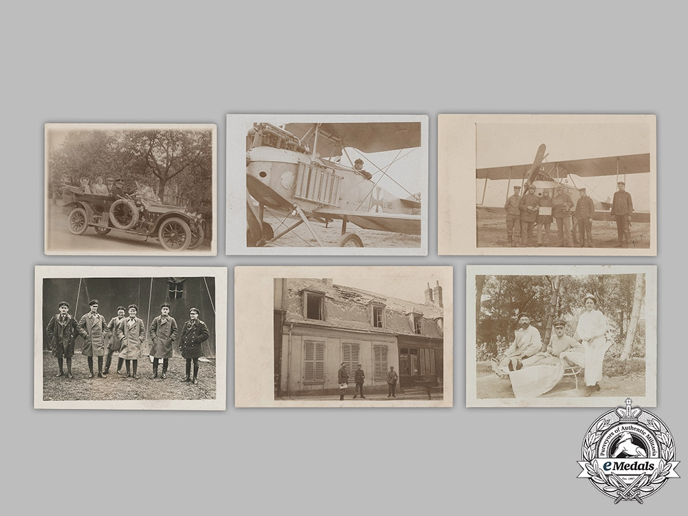 Germany, Imperial. A Private Wartime Photo Album Of Pilot, Ace & Honour Goblet Winner NCO Steudel