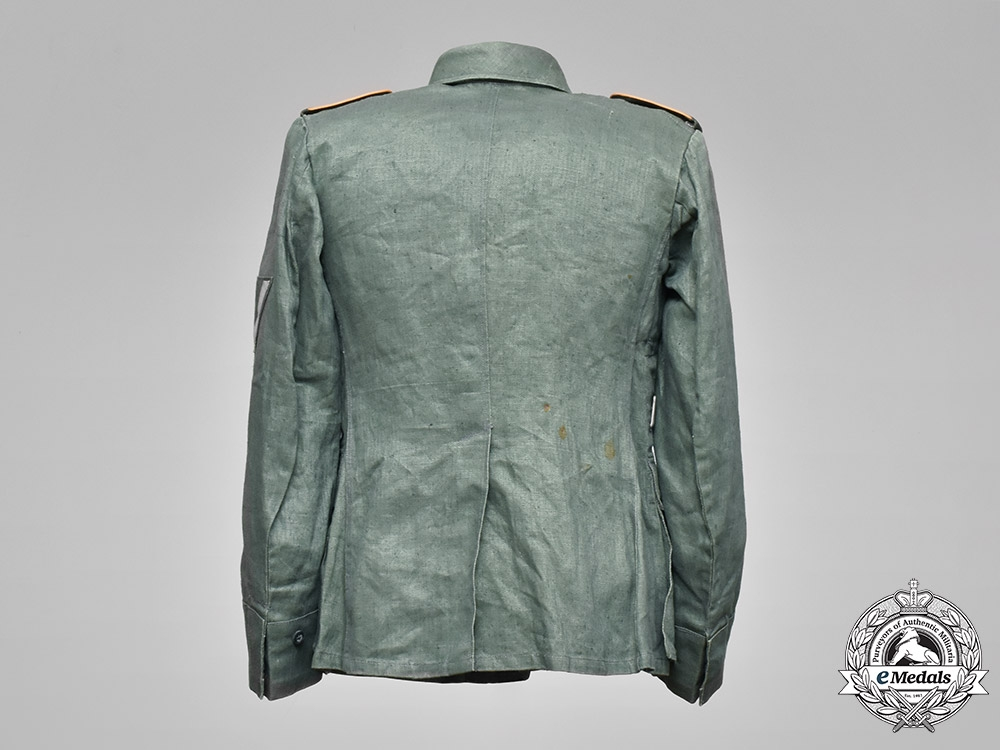 Germany, Luftwaffe. An Aviator/Parachute Troops Combat Field Blouse