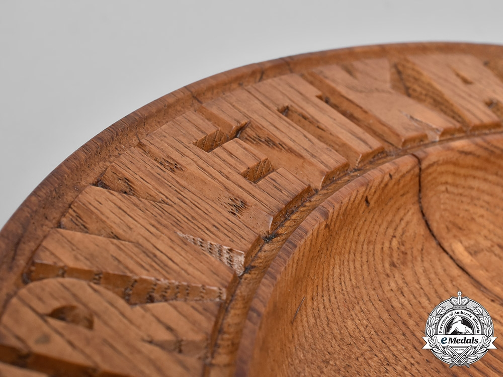 Germany, DAF. A Championship Wooden Plate, c.1937