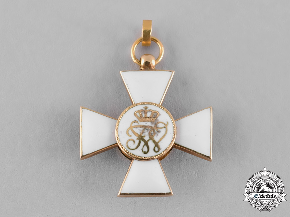 Prussia, State. An Order of the Red Eagle in Gold, Miniature, c.1900