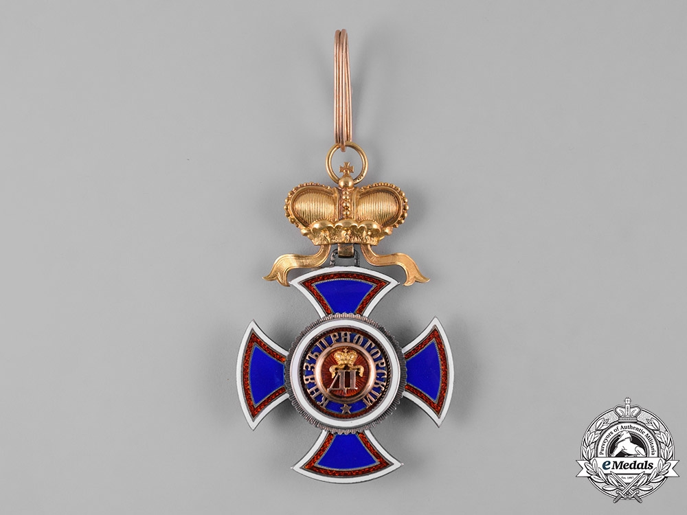 Montenegro, Kingdom. An Order of Prince Danilo I, II Class, by Vincent Mayer's Söhne