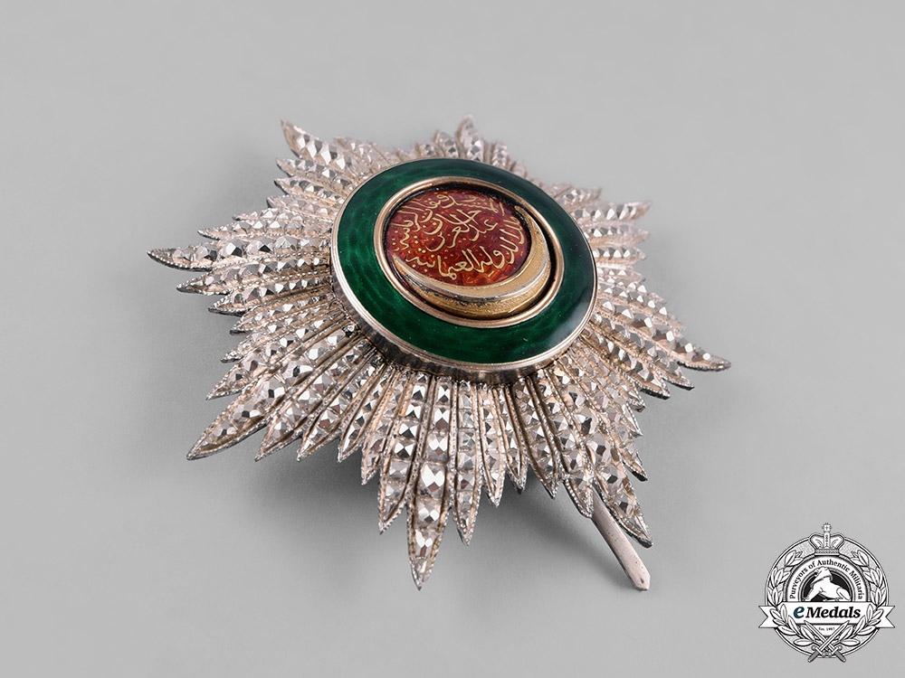 Turkey, Ottoman Empire. An Order of Osmani, II Class Star