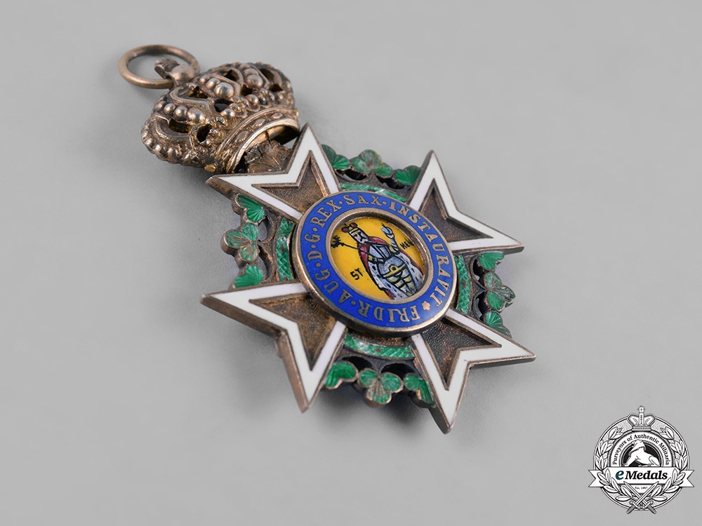Saxony, Kingdom. A Military Order of St. Henry, Knight, by G.A. Scharffenberg, c.1915