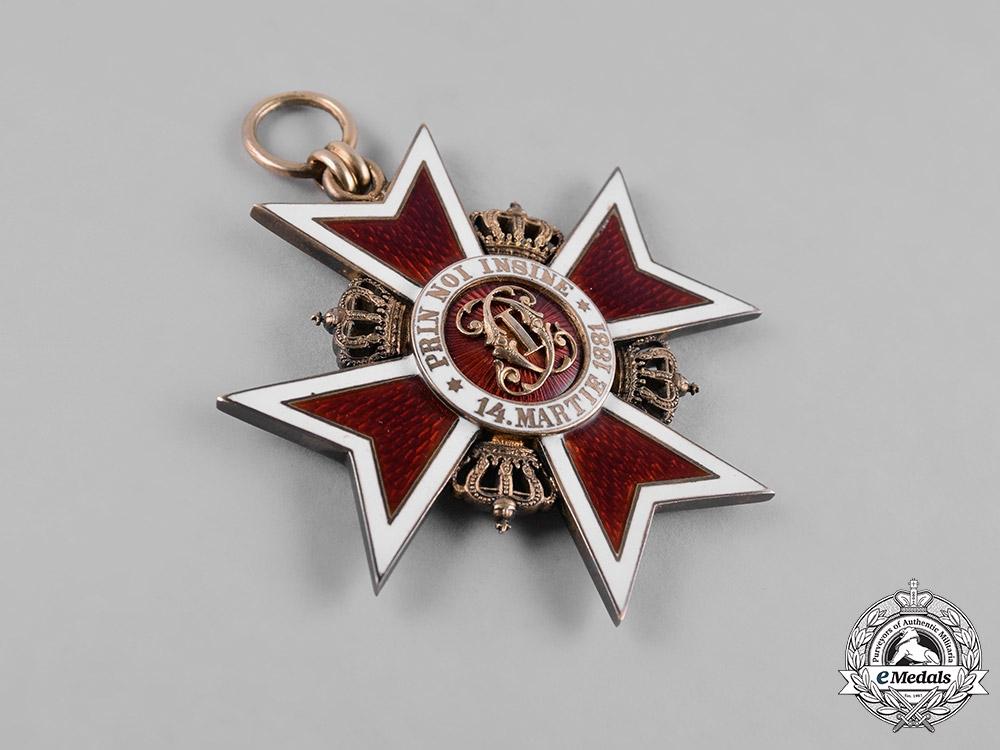 Romania, Kingdom. An Order of the Crown, Grand Cross, Civil Division, by Joseph Resch, c.1940