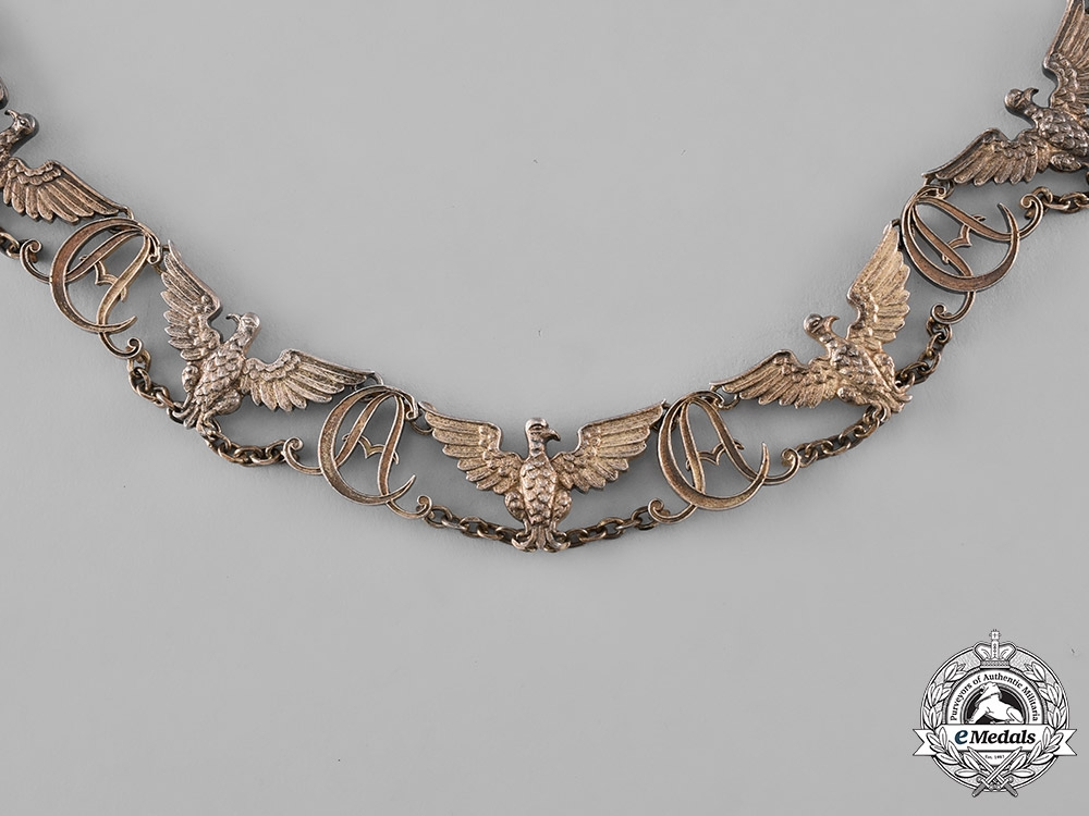 Saxe-Weimar, Duchy. An Order of the White Falcon, Museum Specimen Collar