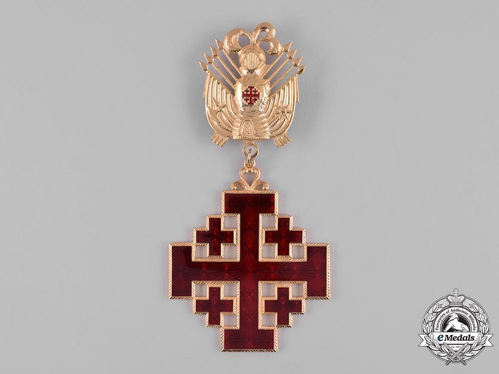 Vatican. Equestrian An Order of the Holy Sepulchre of Jerusalem, Grand Cross, c.1980