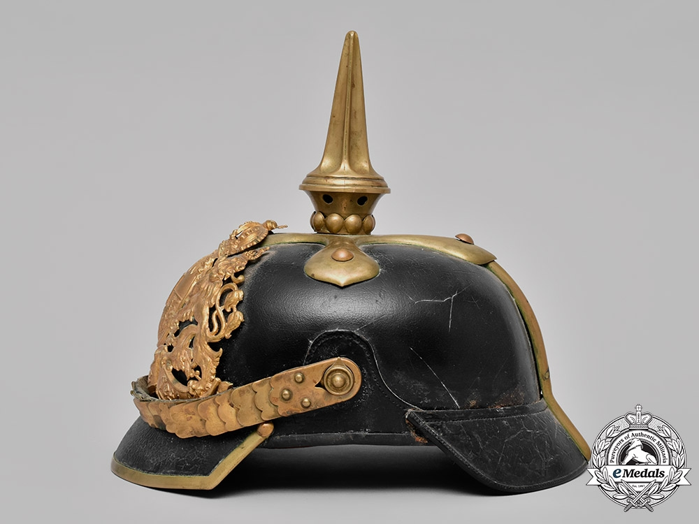Bavaria, Kingdom. An Infantry Officer's Pickelhaube