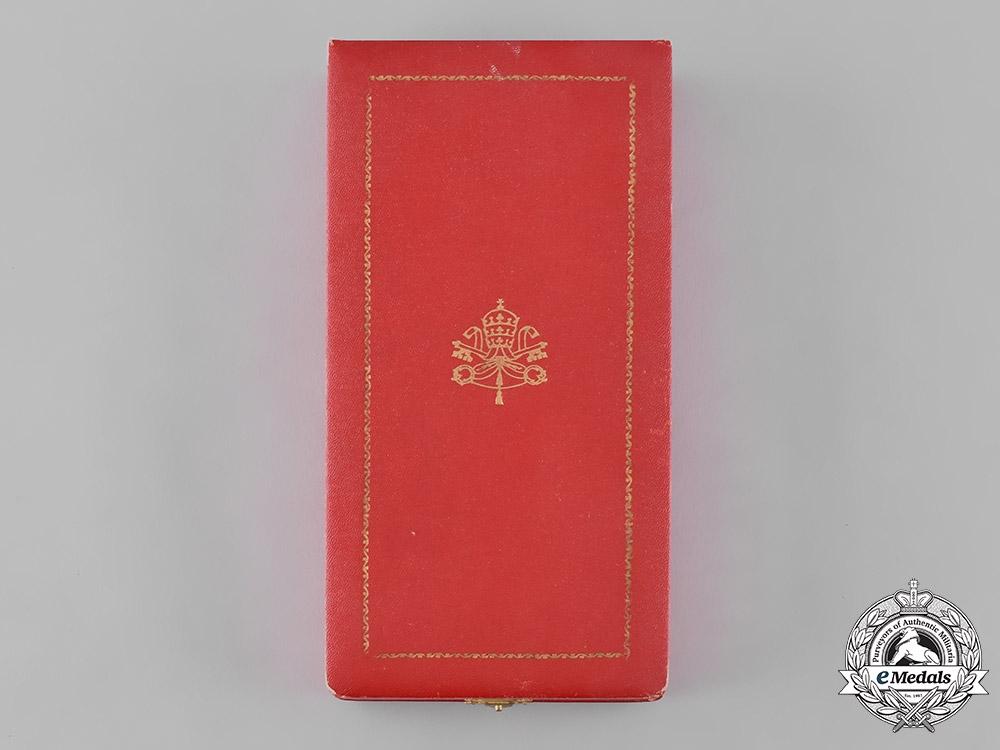 Vatican. An Order of Pope Pius IX, Grand Cross Case, c.1900