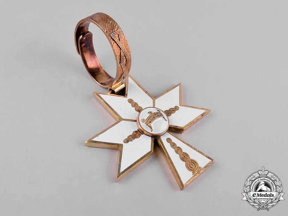 Croatia, Republic. An Order of the Crown of King Zvonimir, I Class Sash Badge, c.1942