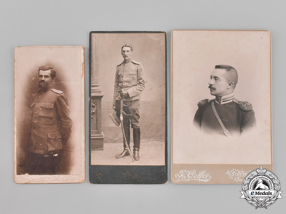 Russia, Imperial  A Lot of Studio Photos of Imperial Russian Army