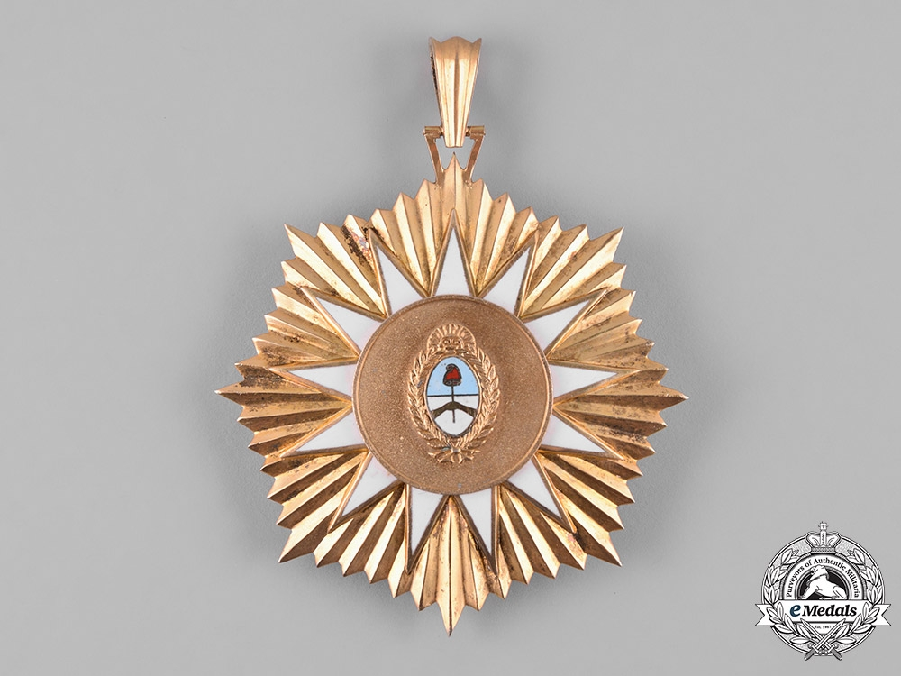 Argentina, Republic. An Order of May of Military Merit, I Class Grand Cross, c.1960