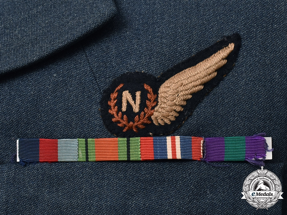 United Kingdom, Canada. A Tunic Group to Flight Lieut. Loftus, No. 83 Squadron Royal Air Force/RAFVR