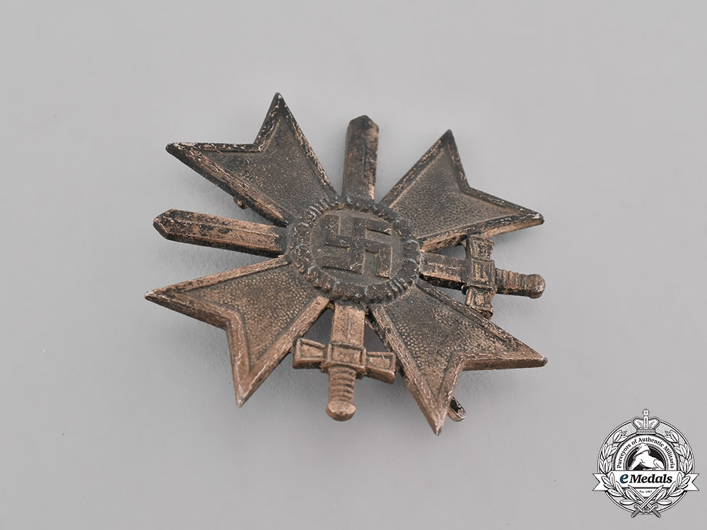 Germany, Wehrmacht. A War Merit Cross, I Class with Swords, by C.F. Zimmermann