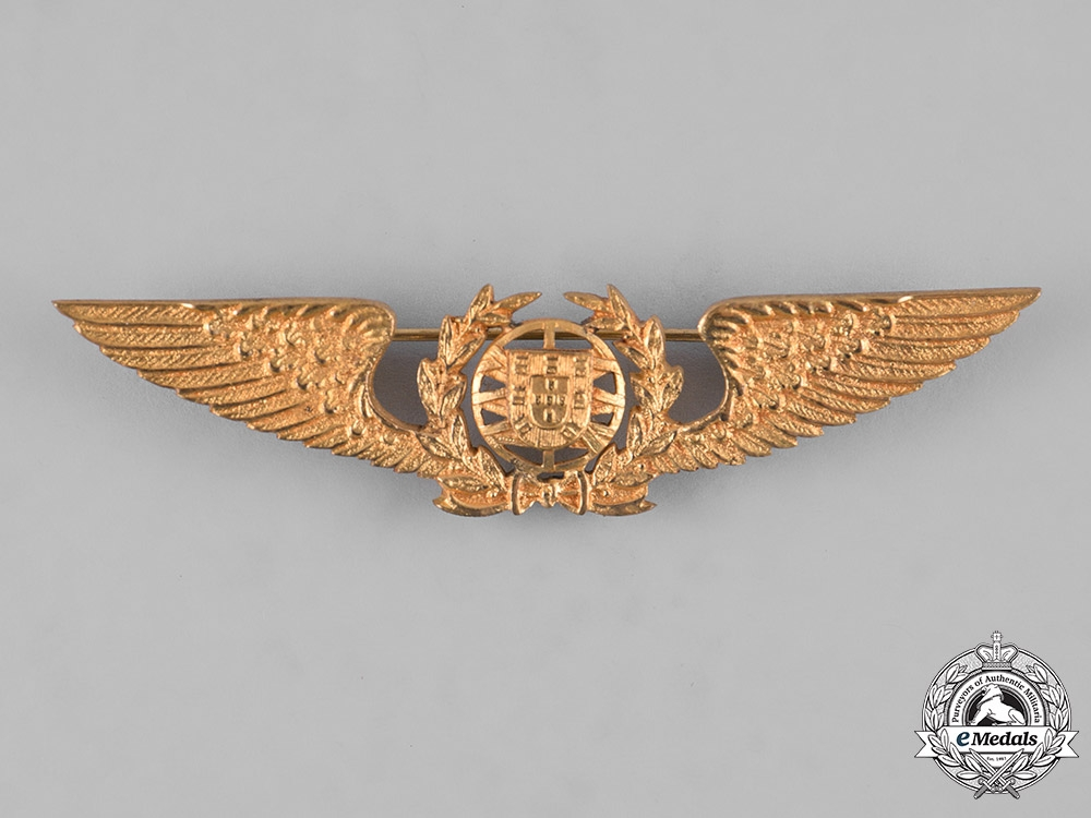 Portugal, Republic. An Air Force Pilot Badge, c.1960