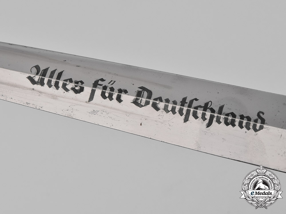 Germany, SA. A Model 1933 SA Group Hesse Dagger, by H.F. Lauterjung