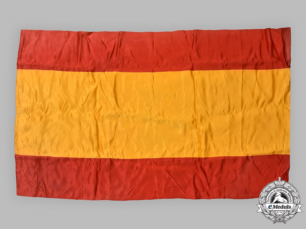 Spain, Fascist State. A Flag of the Nationalists during the Spanish Civil War, c.1938