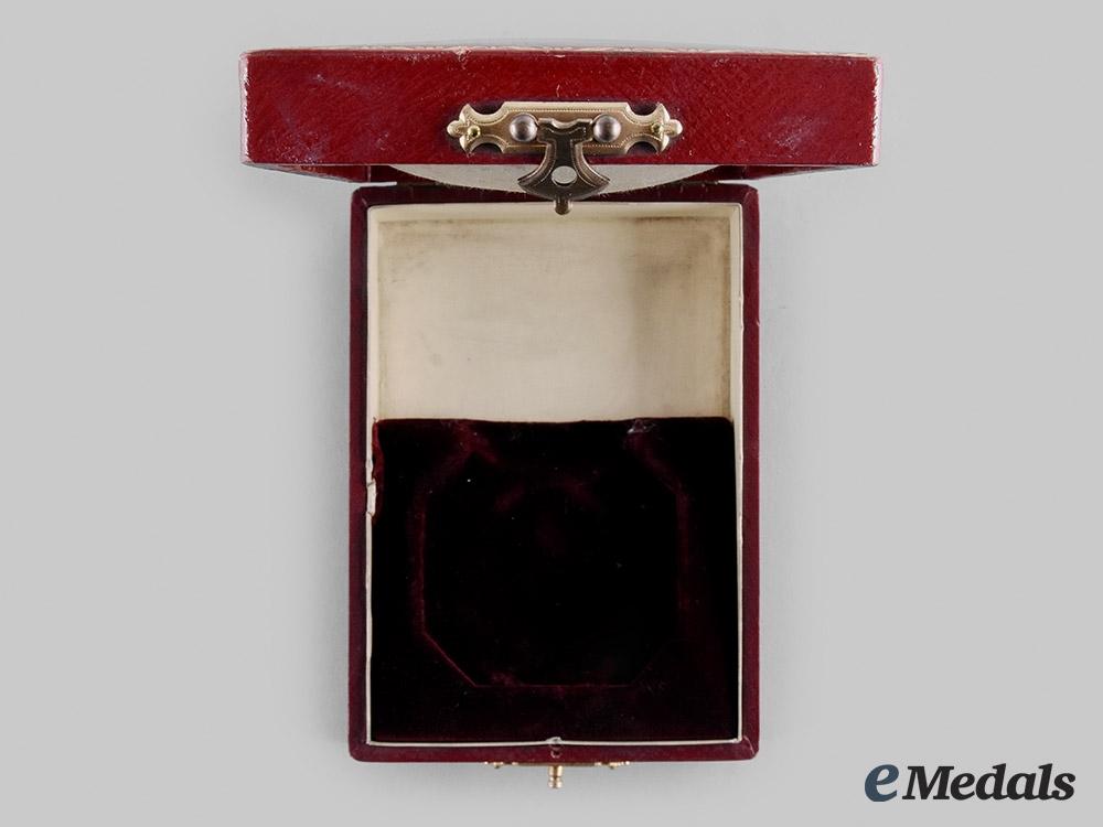 Sweden, Kingdom. A Royal Order of the Sword Commander II Class Case