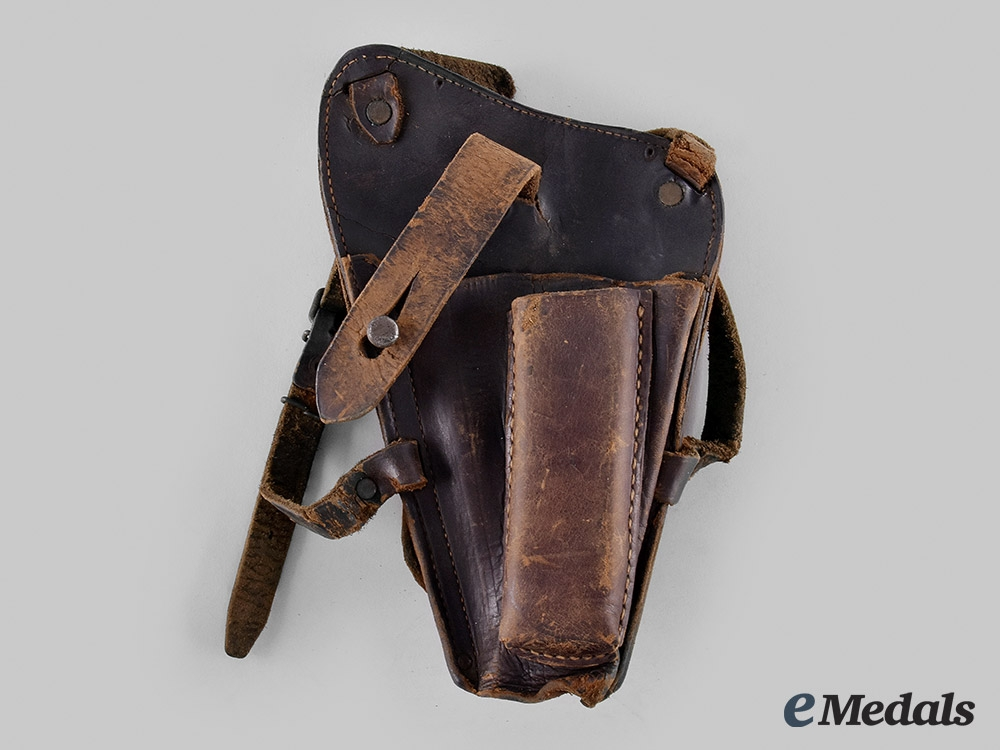 United States. An M1911 Colt Automatic Pistol Shoulder Holster