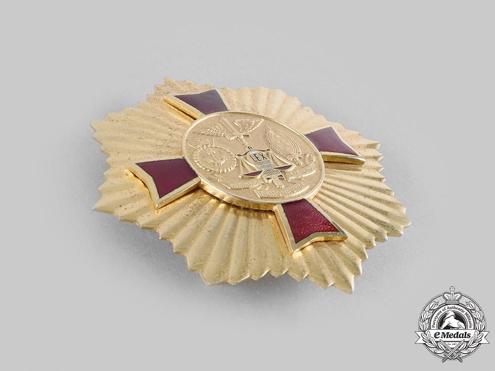 Brazil, Federative Republic. A National Order of Judicial Military Merit, Grand Cross Star, c.1960