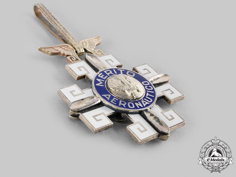 Brazil, Federative Republic. An Order of Aeronautical Merit, Commander, c.1950